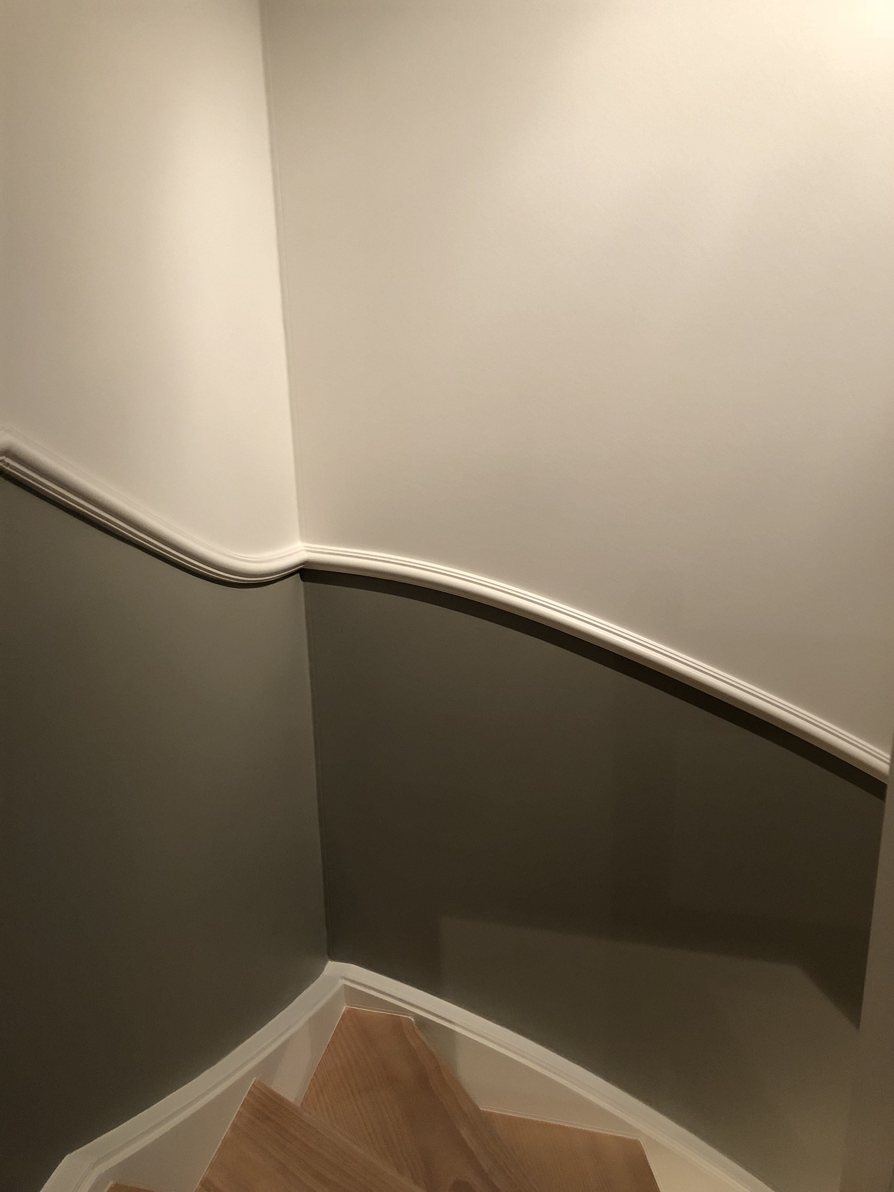 plint aan trap