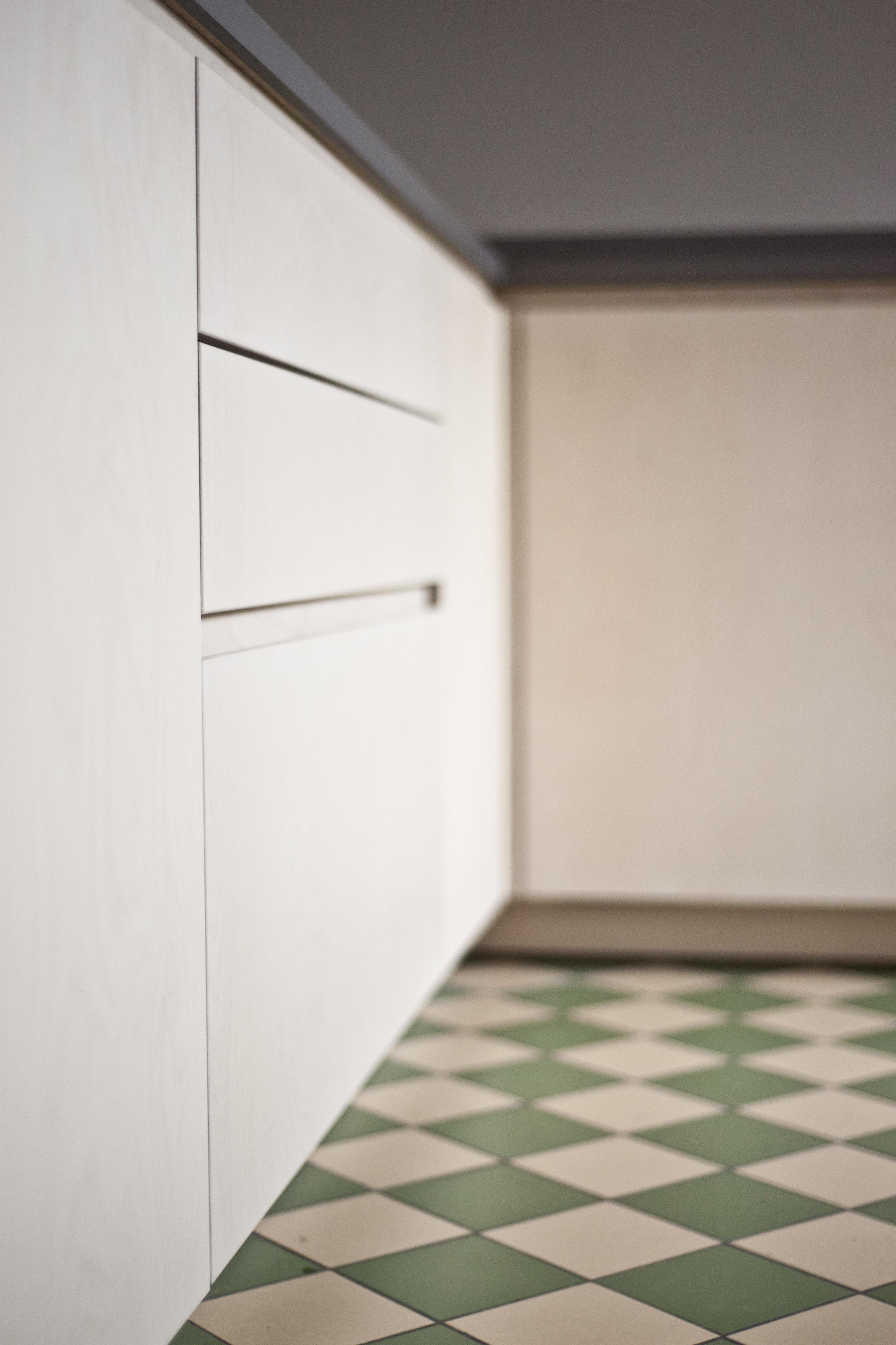 keukenkasten beschilderd