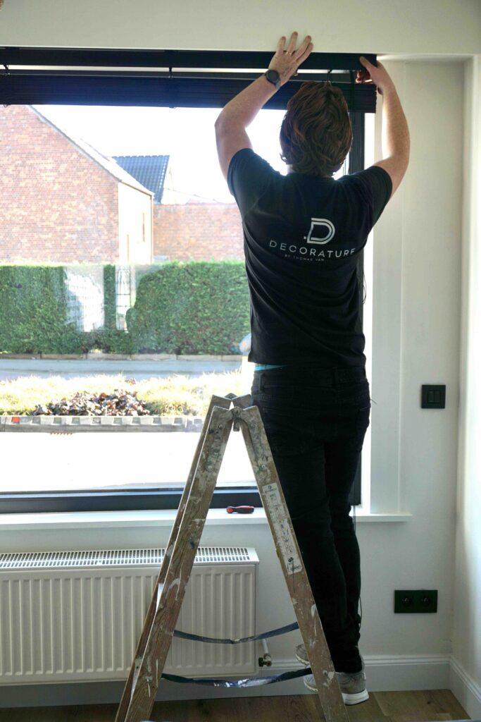 raamdecoratie aan huis